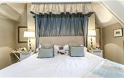 Feel decadent in this bed!