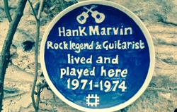 Hank Marvin lived here