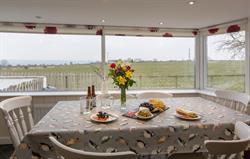 Bay window in Meadow Cottage