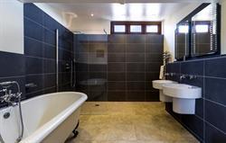 One of 10 ensuite bathrooms