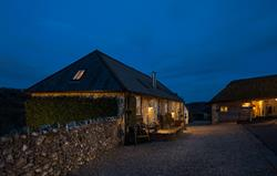 Winery and Thatched at night