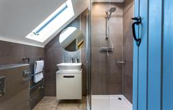 One of sixteen ensuite bathrooms