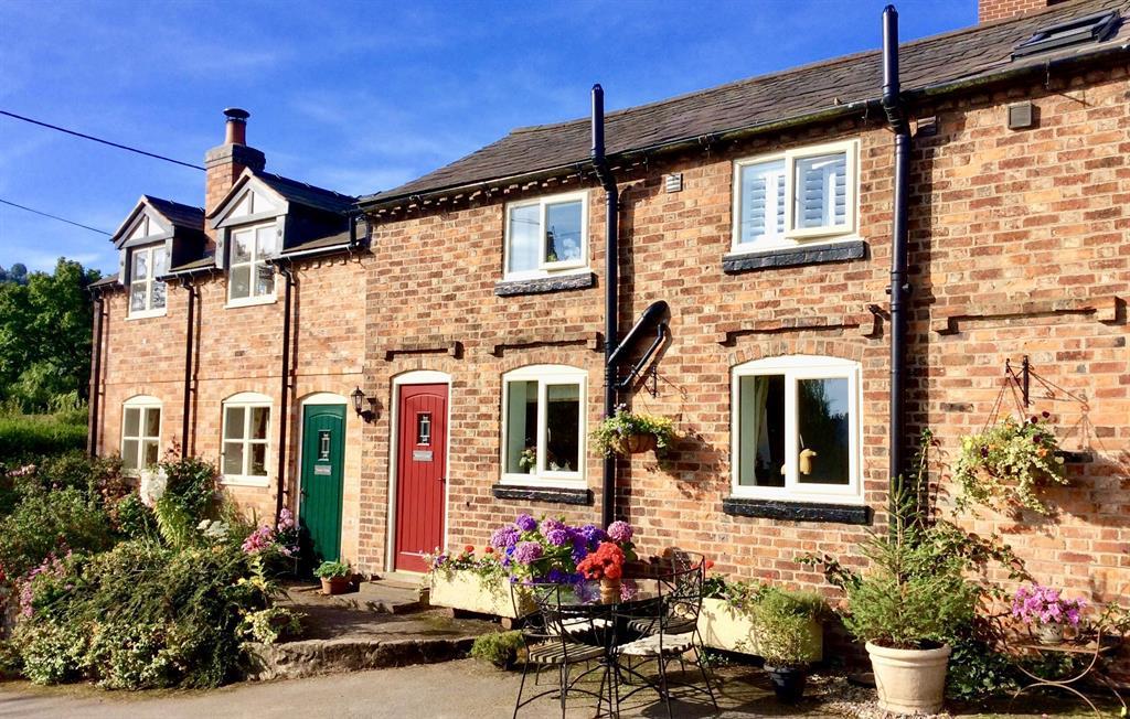 Baker's Cottage red door