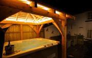 Hot Tub by night