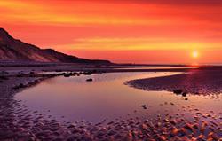 Sunset at Runton beach