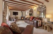 Haybarn - comfy and warm.