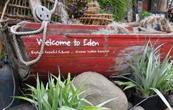 Eden Project Welcome boat