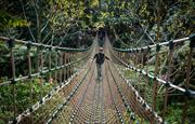 Heligan rope bride