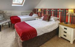 Twin Bedroom in Old Stables