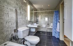 Refurbished spacious wet rooms