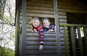 Kids in Treehouse