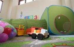 Younger guests play rooms