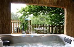 Use of nearby woodland hot tub