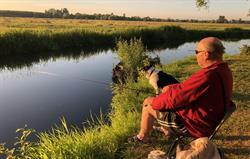 Plenty of fishing spots