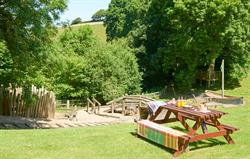 Outdoor adventure playground