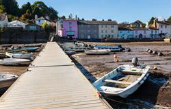Dittisham, a country mile away