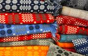 Welsh blankets at Melin Teifi