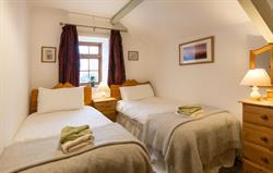 Hayloft twin room