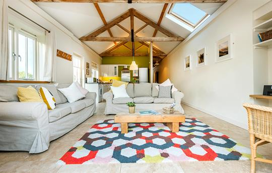 The Eco Barn flexible living space