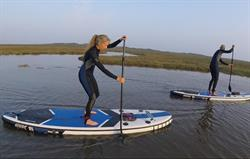 SUP at Burnham Overy Staithe