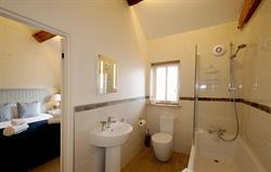 Swallows nest en-suite bathroom