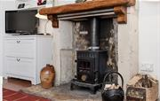 Traditional woodburning stove