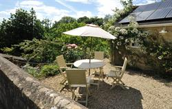 Private terrace at Tucking Mill View