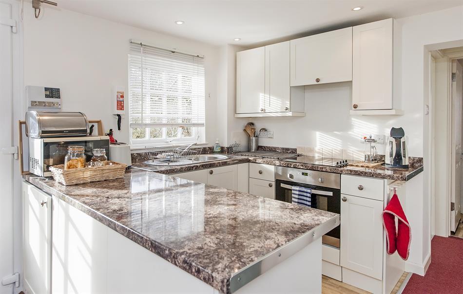 Modern kitchen at Tucking Mill View