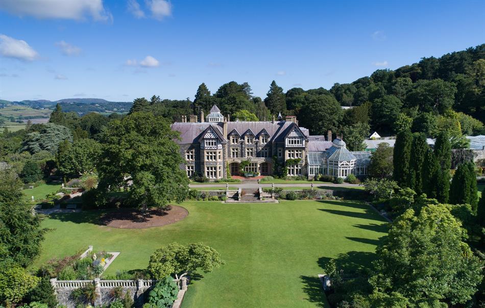 Bodnant Hall & Garden