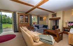 Tyddyn Derwen Living Room