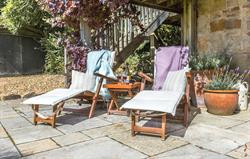 Relax in the private garden