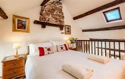 Romantic Galleried Bedroom