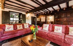 The Farmhouse Luxury Living Room