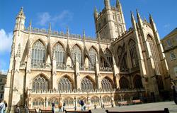 Bath Abbey, 10 mins walk