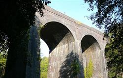 Tucking Mill Viaduct 5 minutes walk