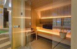 Warm up in the sauna